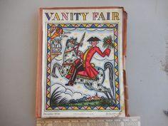 Dec 1928 Vanity Fair Magazine, December, Frame, Painting, Vintage, Art, Picture Frame, Art Background, Painting Art