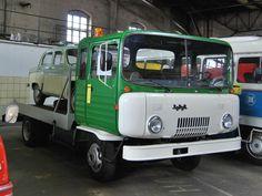 Prototyp Robur O611 im Verkehrsmuseum Dresden, 21.03.09