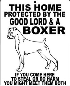 I Love My BoxerHigh Quality Natural Boxer Dog Window Decal Sticker