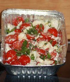 Tomaten Feta Pfännchen