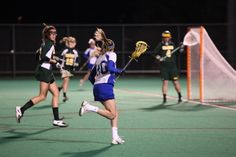 Improve Your Skills With Women's Lacrosse Drills