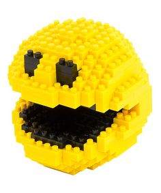 This Pac-Man Pixel Bricks Figure is perfect! #zulilyfinds