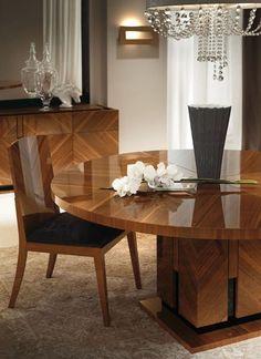 Beau ALF Contemporary Dining Room Set Opera
