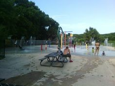 The new water park that opened on Memorial Day at Hanna Park