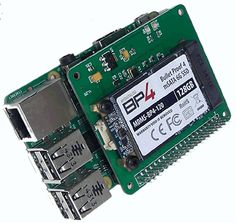 Bud Griffin is raising funds for PiDrive: Low-power, mSATA SSD for the Raspberry Pi on Kickstarter! Introducing the PiDrive, a high capacity Solid State Drive (SSD) expansion card for the Raspberry Pi B+, A+, and B+ Raspberry Pi Computer, Raspberry Pi B, Iot Projects, Arduino Projects, Diy Electronics, Electronics Projects, Electrical Projects, Linux, Projetos Raspberry Pi
