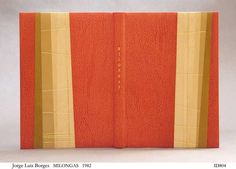 Design binding, full leather with mosaic by Sol Rebora.