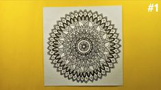 Hey People! Thanks for watching it. In this video, we will learn about How to draw Mandala Art for beginners step by step. Mandala Book, Mandala Art Lesson, Mandala Artwork, Mandala Painting, Watercolor Mandala, Easy Mandala Drawing, Mandala Sketch, Doodle Art Designs, Art Drawings Sketches Simple