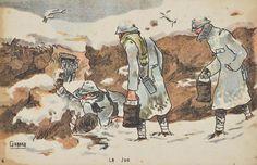 War drawing. Europeana 1914-1918, CC BY-SA
