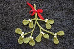 Ravelry: Mistletoe pattern by Lesley Stanfield