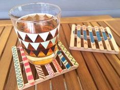 Father's Day: Gift Ideas Your Kids Can Make Fête des pères/fête des mères Kids Crafts, Crafts For Kids To Make, Toddler Crafts, Diy And Crafts, Ice Cream Stick Craft, Diy Popsicle Stick Crafts, Fathers Day Crafts, Popsicles, Diy Paper