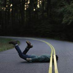 Best photography idea #boy #road #weird