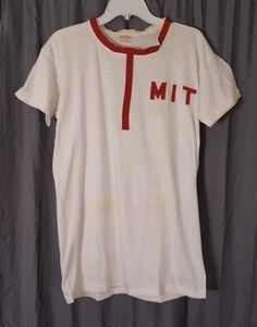 1950s Harvard Crew Team Tee Shirt MIT