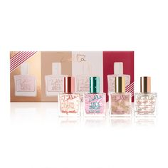 It's the complete collection! Blissful Mistful, lets spritz!, sweet inspirations and Bake My Day. All 4 mini fragrances wrapped up in one box. A scent to suit every mood!...