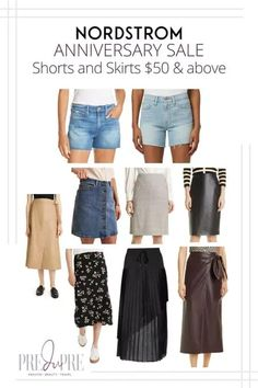 Great finds at the Nordstrom Anniversary Sale. I've rounded up my top picks in shorts & skirts above $50. Hot Summer Outfits, Fall Outfits, Warm Weather Outfits, Nordstrom Anniversary Sale, Fitted Skirt, Weekend Wear, Get Dressed, Short Skirts, Winter Fashion