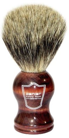 Father's day gift: Parker Safety Razor Pure Badger Bristle Shaving Brush with Rosewood Handle & Free Stand Beauty Tips In Hindi, Beauty Tips For Hair, Beauty Makeup Tips, Beauty Hacks, Badger Shaving Brush, Wet Shaving, Seductive Makeup, Best Shave