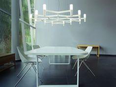Nemo Lighting Crown Plana Mega Pendant Light by Jehs + Laub - Chaplins