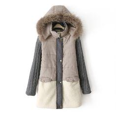 2017 New Autumn Winter Women Warm Coat Fashion Female Lady Down ...