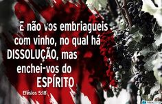Menos de nós e mais do Espírito Santo em nós!
