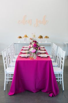 Pink baby's first birthday bach: Photography : Lady & Gent Photography Read More on SMP: http://www.stylemepretty.com/living/2017/02/17/a-donut-inspired-1st-birthday-bash/