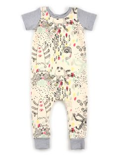 harem coverall pattern $7.50