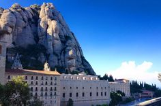 Hear the bells toll in the monestary at Montserrat, just outside Barcelona. #GrabYourDream #spainadventure #travel