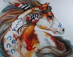 Oklahoma Spirit Indian war Horse