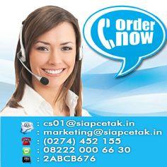 Hubungi SiapCetak.in melalui halaman website www.siapcetak.in