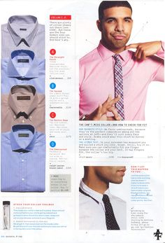 Men's shirt collar issues. Sharp Dressed Man, Well Dressed Men, Mens Wardrobe Essentials, Masculine Style, Gq Style, Tailored Shirts, Mens Style Guide, Classy Casual, Gentleman Style