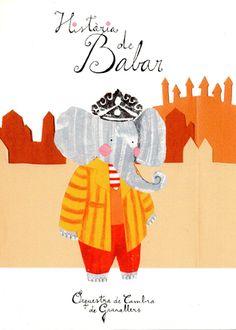 - HISTÒRIA DE BABAR -  Neus Caamaño Little Elephant, All The Colors, Universe, Illustrations, Colours, Dreams, Fictional Characters, Art, Printing Press