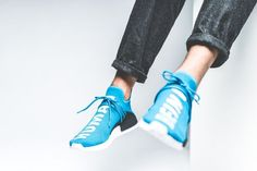 Watch out for all the fake Adidas NMD Pharrell Williams Human Races online. Get a 29 point step-by-step guide on spotting fakes from goVerify before it's too late. Adidas Nmd, Adidas Shoes, Sneakers Nike, Adidas Human Race, Pharrell Williams, Shoe Game, Skateboard, Step Guide, Watch