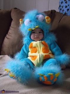 monster cayden costume - Monsters Inc Baby Halloween Costumes