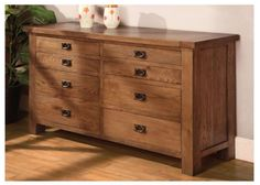 Rustic Oak Long 8 Drawer Chest of Drawers is  extremely innovative and quality assured to meet your house demand with maximum aesthetics. More details: http://solidwoodfurniture.co/product-details-oak-furnitures-3135-rustic-oak-long-drawer-chest-of-drawers.html