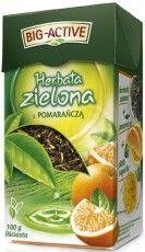Moje najnowsze odkrycie- Herbata zielona z pomarańczą