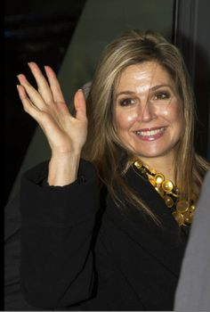"""Royals & Fashion - Queen Maxima helped launch the """"State of SMEs"""", in The Hague. It is an initiative for entrepreneurship and financing for SMEs."""