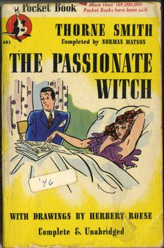 #vintage #pulp #book #novel #sexy #illustration #pinup #girl #art #naughty #novelty #passionate #witch