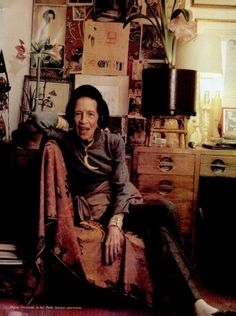 Diana Vreeland (1903-1989) began her career at Harper's Bazaar in 1936 and established herself as one of the American leading arbiters of style at the time. She joined Vogue in 1962 and continued to be a powerful force in Fashion World. She was named to the International Best Dressed List Hall of Fame in 1964
