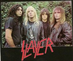 In highschool, South of Heaven was my fave Slayer album Metal Music Bands, Heavy Metal Bands, Hard Rock, Tom Araya, Music Man Cave, Big Hair Bands, Reign In Blood, Kerry King, Thrash Metal