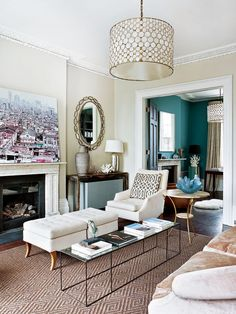 Here are some doable living room decor and interior design tips that will make your home cozy and comfortable for family and friends. Living Room Inspiration, Interior Design Inspiration, Home Decor Inspiration, Modern Victorian Decor, Victorian Homes, Victorian Parlor, Home Living Room, Living Room Designs, Living Room Decor