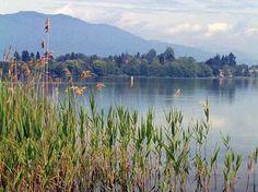 Il Lago di Monate si trova vicino a Varese e al Lago Maggiore. Meta ideale per una gita fuori porta a contatto con la natura a piedi o in bicicletta.