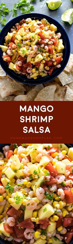 tomato avocado salsa sautéed shrimp with warm tropical fruit salsa ...