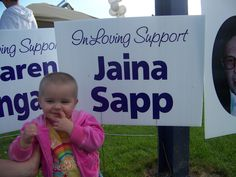 Jaina Sapp was 11 months old when she was diagnosed and began treatment for Hepatoblastoma, or liver cancer. She survived chemotherapy and surgeries and is now 4 years old. Her father, Pete Sapp, sent us this photo.