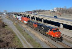 RailPictures.Net Photo: CN 2815 Canadian National Railway GE ES44AC at Montreal, Quebec, Canada by Michael Berry