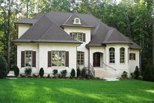 Country Style House Plan 5 Beds 4 5 Baths 3618 Sq Ft Plan 927 502 French Country Exterior French Country House Plans French Country House