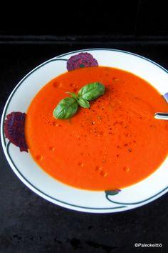 Paahteinen tomaatti-paprikakeitto | Paleokeittiö