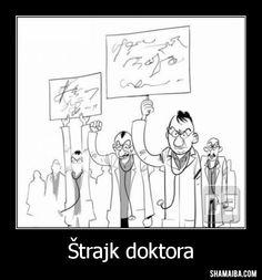 demotivacija - trajk doktora_