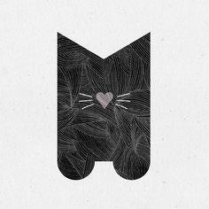 Meow #36days_m #36daysoftype04 @36daysoftype