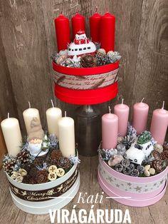 Christmas Advent Wreath, Custom Christmas Ornaments, Winter Christmas, Christmas Lights, Christmas Crafts, Christmas Decorations, Holiday, Christmas Soldiers, Upcycled Home Decor