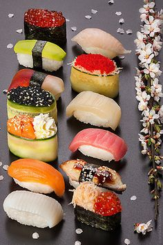 •﹏•♥ sushi *I don't think the artificial flower is necessary ☺