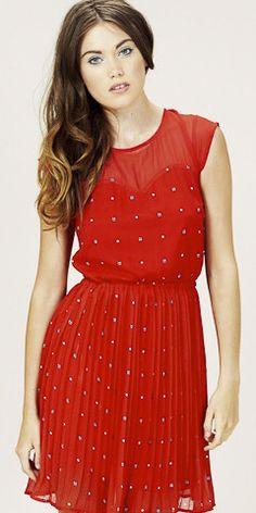 Lady Bug Dress from @Molly Green