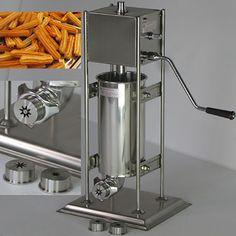 BG-5L Electric automatic Spain churros machine Fried dough sticks machine Spanish snacks, Latin fruit machine churros maker #Affiliate